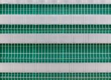 Εμπόδιο φρακτών καλωδίων μετάλλων στο εργοτάξιο οικοδομής Στοκ Εικόνες