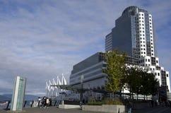 εμπόριο Βανκούβερ θέσεων κεντρικών συμβάσεων του Καναδά Στοκ φωτογραφία με δικαίωμα ελεύθερης χρήσης