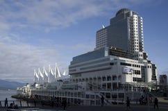 εμπόριο Βανκούβερ θέσεων κεντρικών συμβάσεων του Καναδά Στοκ Εικόνα