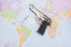 Εμπόριο στα όπλα στοκ εικόνες