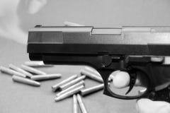 εμπόριο 5 πυροβόλων όπλων Στοκ Φωτογραφίες