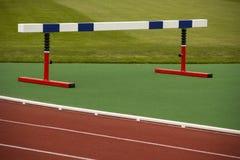 Εμπόδιο αθλητικού εξοπλισμού στοκ εικόνα