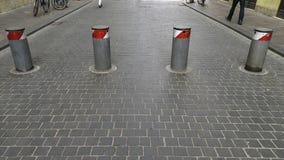 Εμπόδιο για τα αυτοκίνητα στοκ εικόνες με δικαίωμα ελεύθερης χρήσης