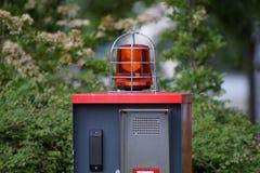 Εμπόδιο εισόδων Στοκ φωτογραφία με δικαίωμα ελεύθερης χρήσης