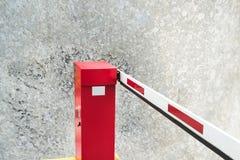Εμπόδιο χώρων στάθμευσης Στοκ εικόνες με δικαίωμα ελεύθερης χρήσης