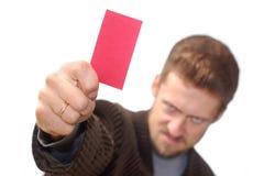 εμφάνιση καρτών Στοκ Εικόνες