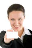 εμφάνιση καρτών Στοκ φωτογραφίες με δικαίωμα ελεύθερης χρήσης