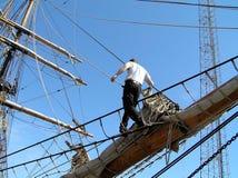 εμφάνιση ναυτικών κυριότητας στοκ φωτογραφία