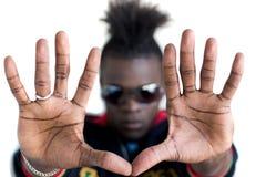 εμφάνιση χεριών Στοκ φωτογραφίες με δικαίωμα ελεύθερης χρήσης