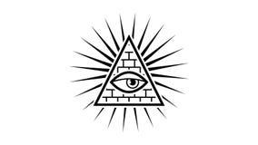 εμφανίσεις όλη η θέα ματιών Κτίστες σημαδιών Άσπρη ανασκόπηση Άλφα κανάλι διανυσματική απεικόνιση