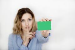 Εμφανίστε κάρτα στοκ εικόνες με δικαίωμα ελεύθερης χρήσης