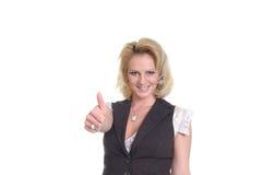 εμφανίστε κάτι στη γυναίκα Στοκ εικόνα με δικαίωμα ελεύθερης χρήσης