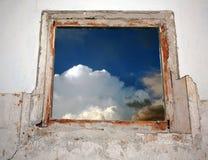 εμφανίστε το παράθυρο Στοκ Φωτογραφίες