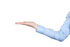 Εμφανίστε χέρι στοκ φωτογραφία