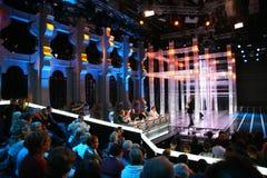 εμφανίστε TV Στοκ φωτογραφία με δικαίωμα ελεύθερης χρήσης