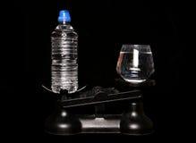 Εμφιαλωμένο νερό καλύτερα από το νερό βρύσης Στοκ Φωτογραφία
