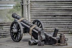 Εμφύλιος πόλεμος Canon Στοκ φωτογραφίες με δικαίωμα ελεύθερης χρήσης