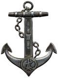ενάντια απομονωμένο λευκό μετάλλων αγκυλών στο ανασκόπηση Στοκ εικόνα με δικαίωμα ελεύθερης χρήσης
