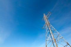 ενάντια στην μπλε ηλεκτρι Στοκ Εικόνα