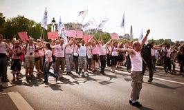 ενάντια στις ενισχύσεις &pi Στοκ Εικόνες