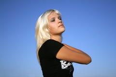 ενάντια στον μπλε ουρανό &kapp Στοκ εικόνα με δικαίωμα ελεύθερης χρήσης