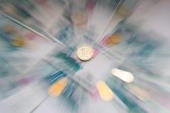 ενάντια στο ρούβλι χίλια νομίσματος Στοκ φωτογραφία με δικαίωμα ελεύθερης χρήσης