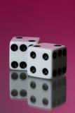 ενάντια χωρίστε σε τετράγωνα το ροζ Στοκ Φωτογραφία