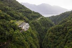 Ενάντιο φράγμα, Ελβετία στοκ εικόνες