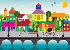 Ενάρξεις στη φωτεινή ημέρα Στοκ εικόνα με δικαίωμα ελεύθερης χρήσης