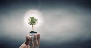 ενέργεια έννοιας - αποταμίευση Στοκ Εικόνες