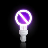 ενέργεια έννοιας - αποταμίευση Στοκ εικόνα με δικαίωμα ελεύθερης χρήσης