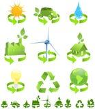 ενέργεια ανακύκλωσης Στοκ φωτογραφία με δικαίωμα ελεύθερης χρήσης