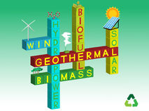 ενέργεια ανανεώσιμη Στοκ εικόνες με δικαίωμα ελεύθερης χρήσης