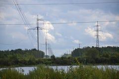 Ενέργεια, ηλεκτρική ενέργεια, ηλεκτρική ενέργεια, ενέργεια δύναμης, Po Στοκ φωτογραφία με δικαίωμα ελεύθερης χρήσης