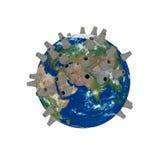 ενέργεια πυρηνική Στοκ φωτογραφία με δικαίωμα ελεύθερης χρήσης