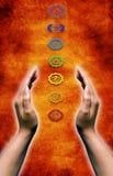 ενέργεια chakra διανυσματική απεικόνιση
