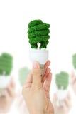 ενέργεια eco έννοιας Στοκ εικόνες με δικαίωμα ελεύθερης χρήσης