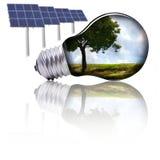 ενέργεια eco Στοκ φωτογραφία με δικαίωμα ελεύθερης χρήσης