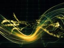 Ενέργεια Fractal των σφαιρών Στοκ Φωτογραφίες