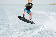 ενέργεια wakeboarder Στοκ Εικόνα
