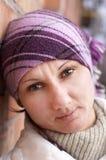ενήλικη γυναίκα πορτρέτο&up στοκ φωτογραφία