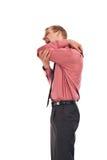 ενήλικος τύπος αγκώνων δ&alp Στοκ Εικόνες