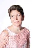 ενήλικο θηλυκό πορτρέτο hai Στοκ Φωτογραφία