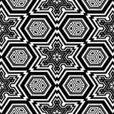 Ενήλικη χρωματίζοντας σελίδα γεωμετρικού σχεδίου Στοκ Εικόνες