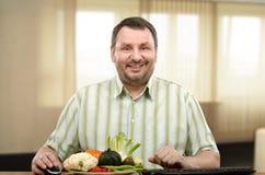 Ενήλικος αρχάριος του σχολείου διατροφής on-line Στοκ Εικόνες