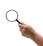 ενίσχυση χεριών γυαλιού Στοκ εικόνες με δικαίωμα ελεύθερης χρήσης