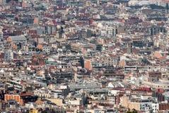Εναέρια άποψη λεπτομέρειας της Βαρκελώνης Στοκ εικόνες με δικαίωμα ελεύθερης χρήσης