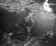 Εναέρια άποψη λιμνών Στοκ φωτογραφία με δικαίωμα ελεύθερης χρήσης