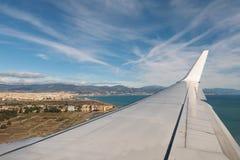 Εναέρια άποψη Μάλαγα, Ισπανία Στοκ εικόνες με δικαίωμα ελεύθερης χρήσης