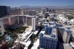 Εναέρια άποψη που αγνοεί το Las Vegas Strip στη Νεβάδα στοκ φωτογραφία